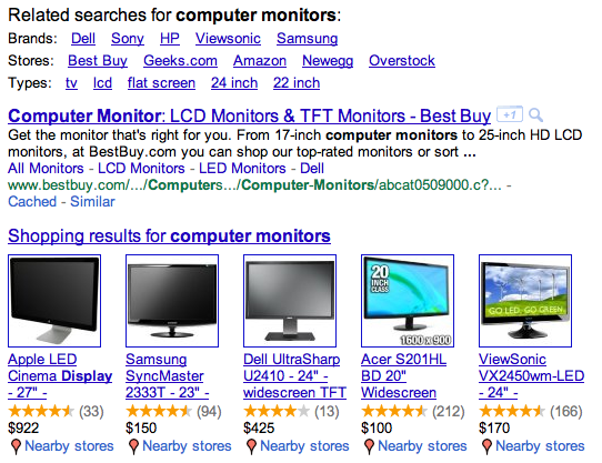 computer monitors google