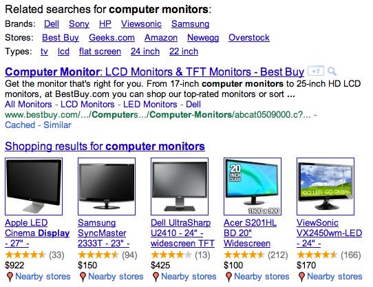 computer monitors google