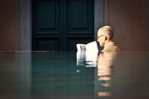 reading in water